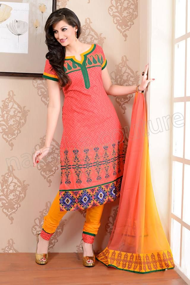 This is the image gallery of Natasha Couture Salwar Kameez Collection 2014. You are currently viewing Natasha Couture Coral Pink and Yellow Cotton Printed Salwar Kameez. All other images from this gallery are given below. Give your comments in comments section about this. Also share stylehoster.com with your friends.   #natashacouture , #salwarkameez, #indiandresses