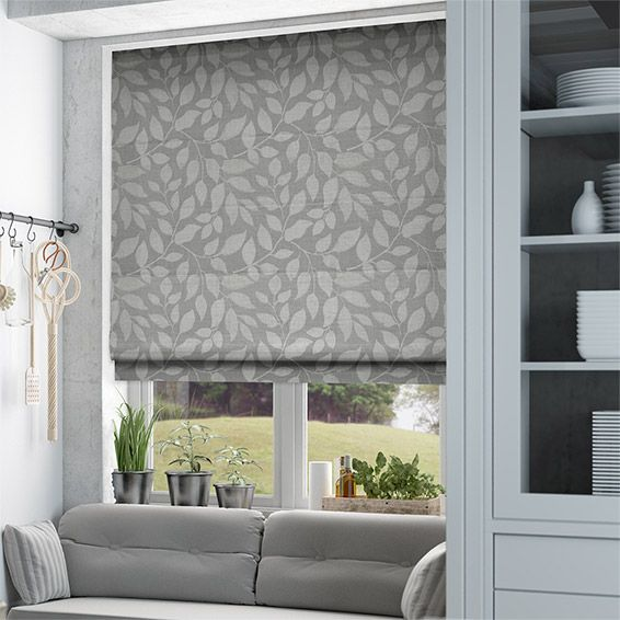 Toscana Pearl Grey Roman Blind from Blinds 2go                                                                                                                                                                                 More