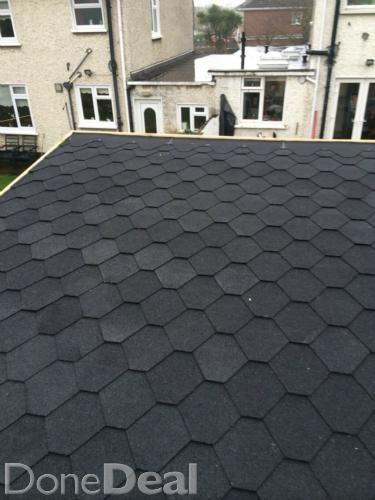 Black Bitumen Roofing Shingles