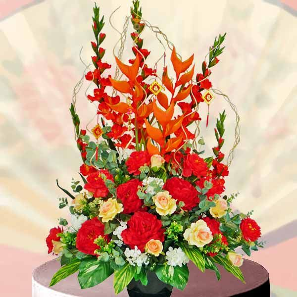 87 best images about happy new year 2017 images on for Flower arrangements for parties