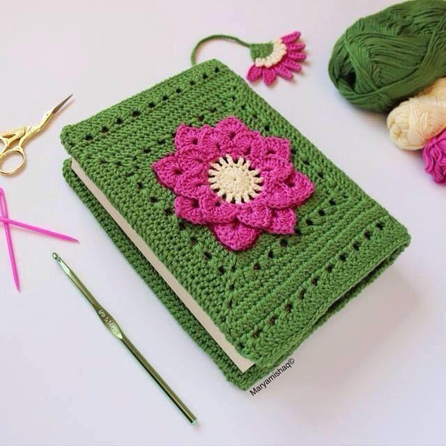 Simple Crochet Book Cover : Pin by aleksandra tomczak on craft crochet pinterest