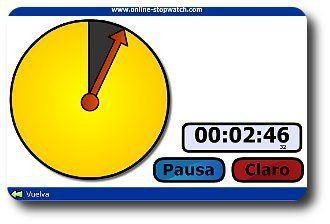reloj - temporizador y cronómetro online