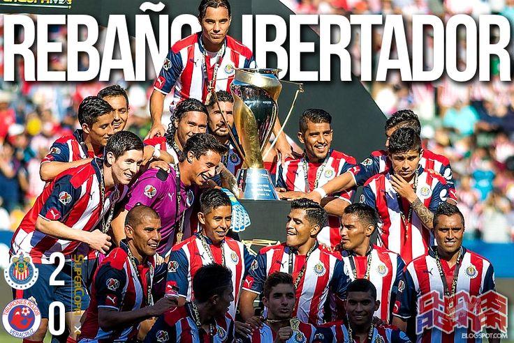 CHIVAS 2-0 TIBURONES || PASA A REPECHAJE DE LIBERTADORES Las Chivas Rayadas superaron a los Tiburones Rojos en el StubHub Center de Carson California y así consiguieron el pase al repechaje de la próxima edición de la Copa Libertadores de América, como MÉXICO 3.