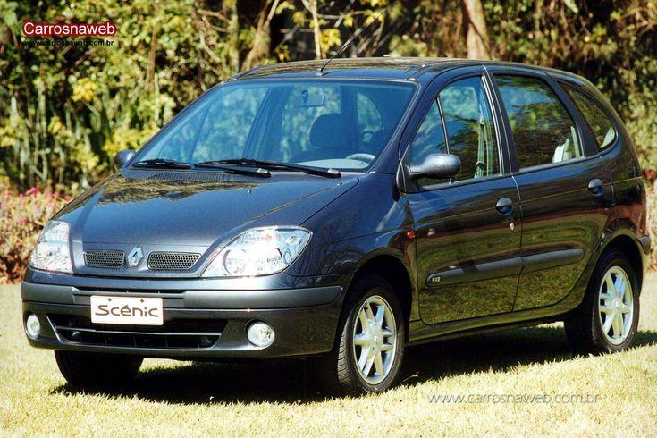 Renault Scenic RT 2.0 16V 2001 - Ficha técnica, equipamentos, fotos, preço