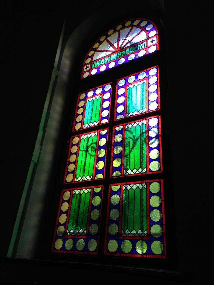 Városmajoba készült ólomüveg ablak #steinedglass #steinedglasswindow #ólomüveg #ólomüvegablak