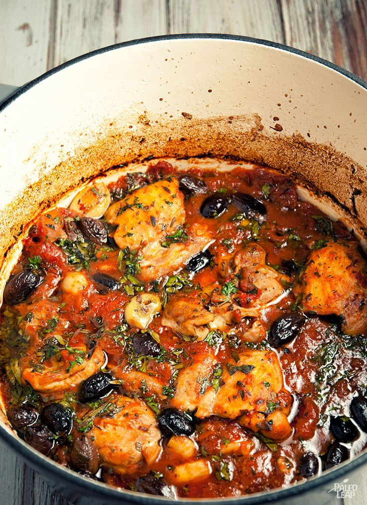 This hearty chicken stew will warm you up from the inside out.