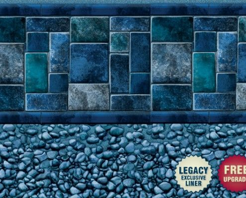 Legacy  Devonshire Tile  Pool Liners  Vinyl  Pool