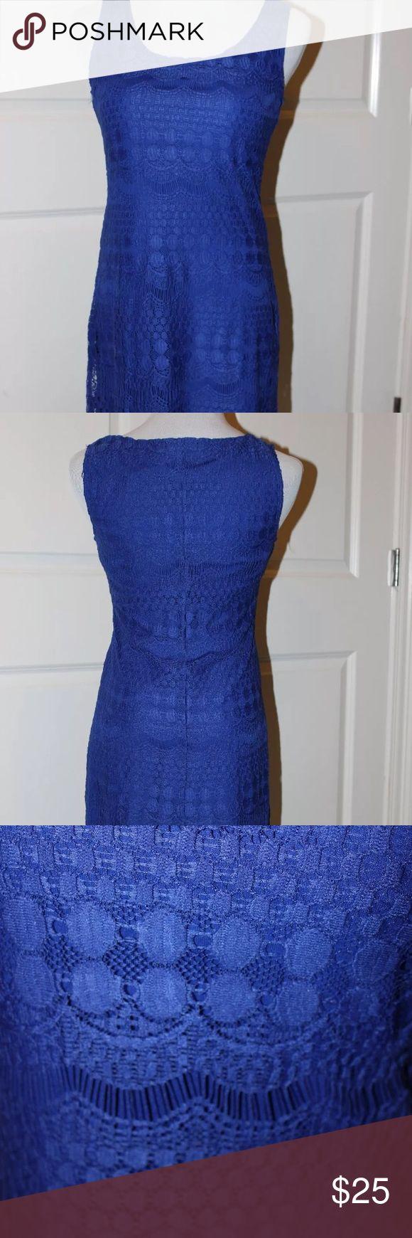 Tiana b dress Gorgeous royal blue sleeveless dress Tiana b Dresses