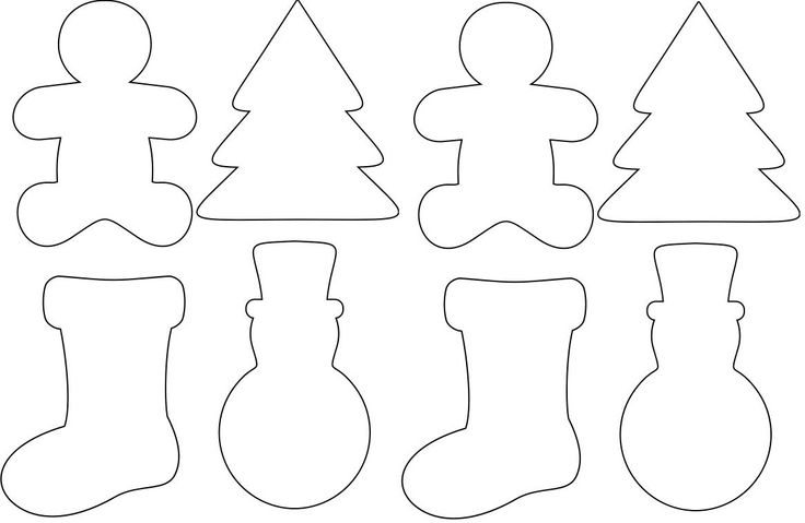 Found this free on pinterest. I printed them out on cardstock so the kids can color and decorate them as Christmas ornaments for my countdown to Christmas project this year. Just add a hole at the top and use sting for hanging.