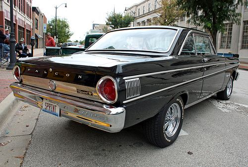 1964 ford falcon sprint 2 door hardtop 3 of 4 cool. Black Bedroom Furniture Sets. Home Design Ideas