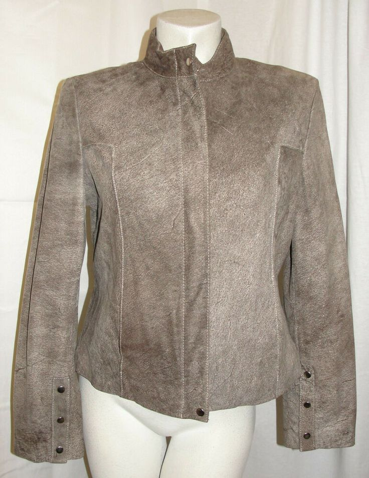 Details about Wilsons Womens Leather Jacket Pelle Studio