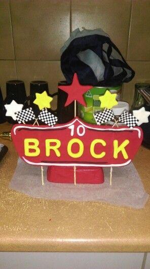 Brocks cake topper Sept 2015
