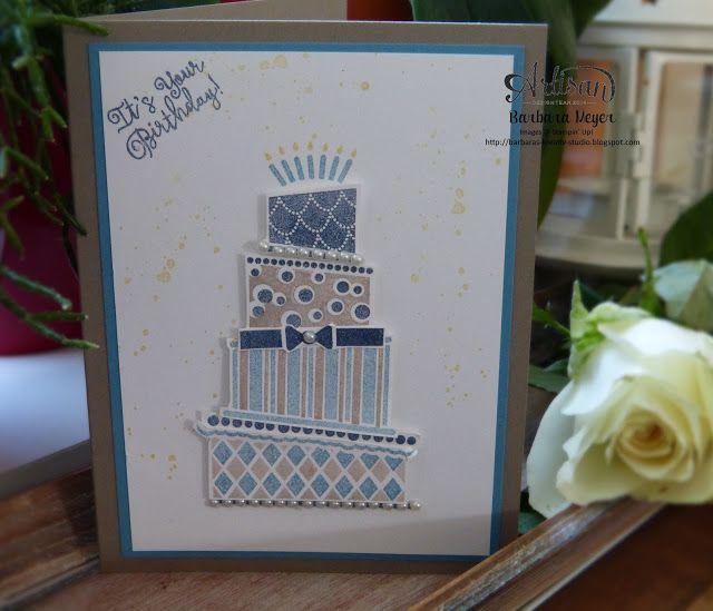 Geburtstagskarte; Cake Crazy Stampin up; Stampin up Wien; stampin up Österreich