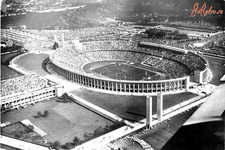 Олимпийский стадион в Берлине, арх. Вернер Марх и Альберт Шпеер, 1934-1936