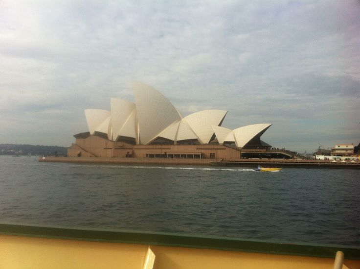 View of the Opera House.. Ferry to Manly