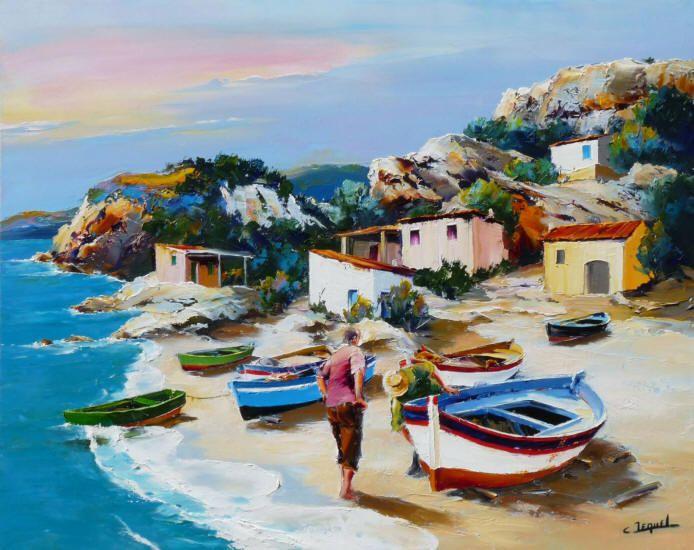 Galleries in Carmel and Palm Desert California - Jones & Terwilliger Galleries - Christian Jequel