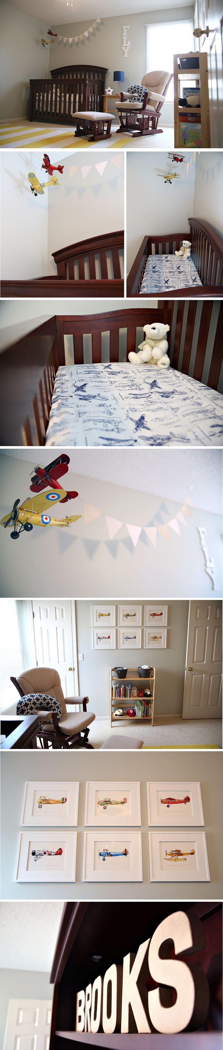 brooks' airplane nursery.