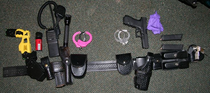 Idea for small waist duty belt setup. #thinblueline #ladycop