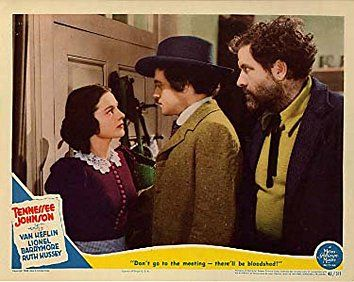 Van Heflin, Ruth Hussey, and Grant Withers in Tennessee Johnson (1942)