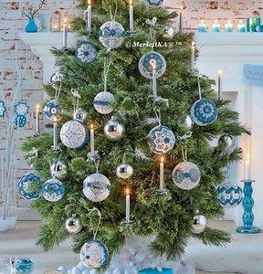 Вязание крючком - рождественские ёлочные украшения. Обсуждение на LiveInternet - Российский Сервис Онлайн-Дневников