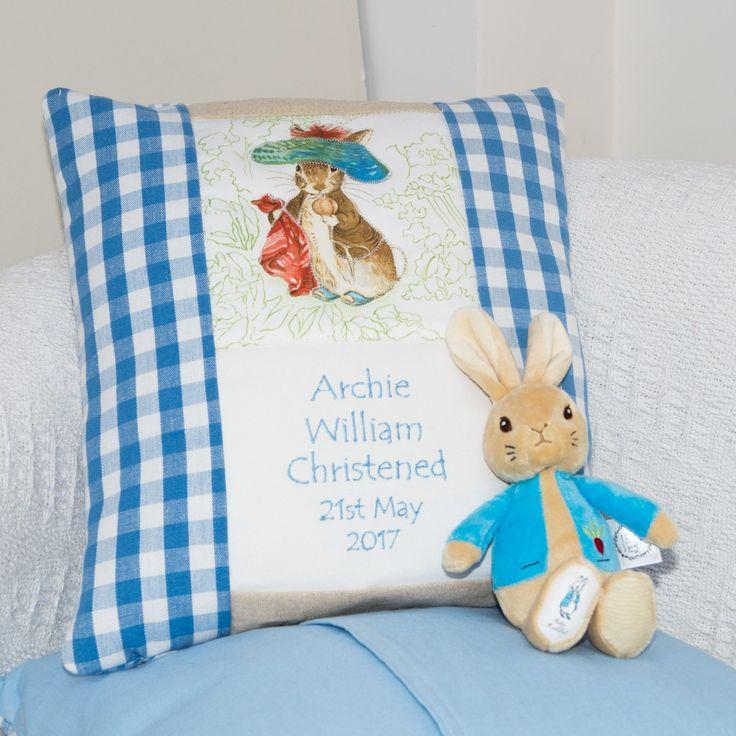 Beatrix Potter© Occasion Cushion Blue