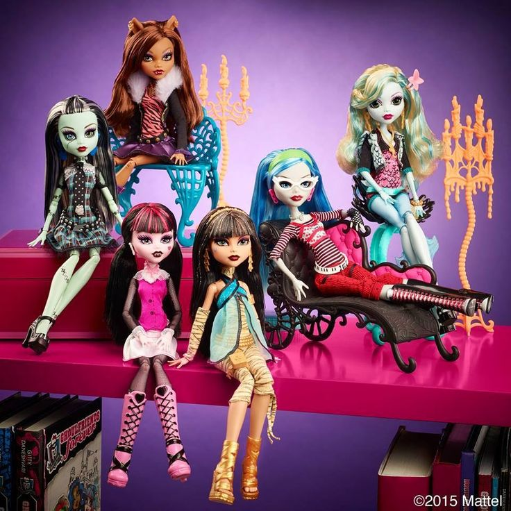 All about Monster High: Original Ghouls 6 pack