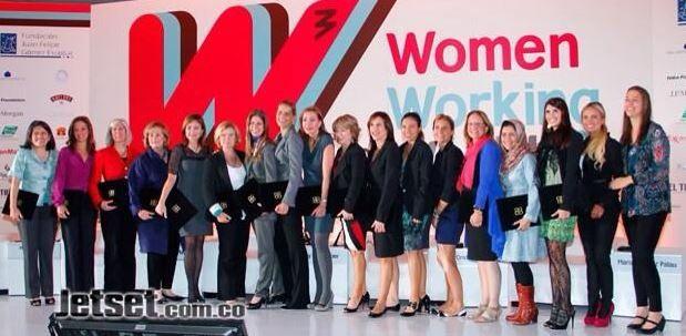Gran recuerdo del 1er Foro #WomenWorking4TheWorld Mujeres cambiando el mundo. @Cataescobarr