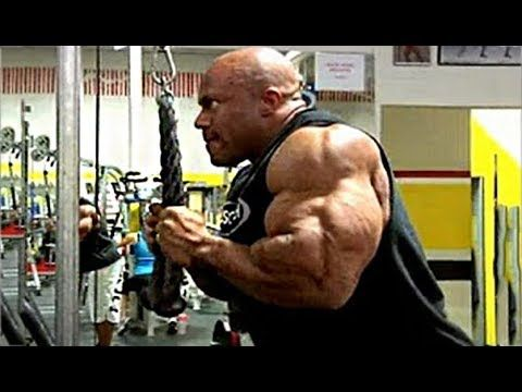 Phil Heath's Hardcore Arms, Biceps/Triceps Workout For MASS - YouTube