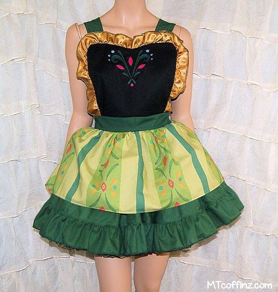 Anna+Coronation+Dress+Inspired+Apron+Costume+Skirt+by+mtcoffinz,+$100.00