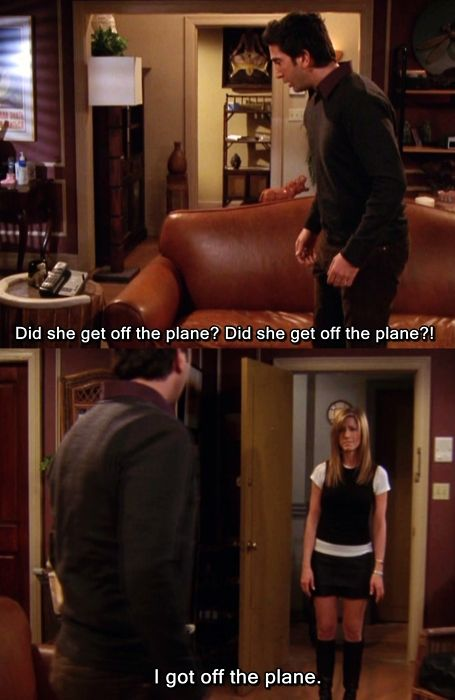 My favourite Ross/Rachel moment! Absolutely perfect! <3 <3