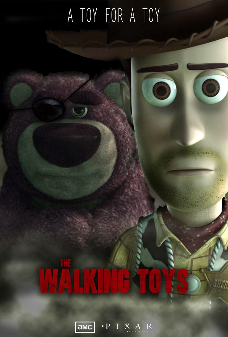 The Walking Toys (Walking Dead / Toy Story mashup)