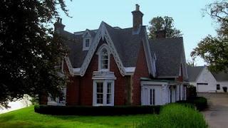 Thomson Brothers Gothic Brick House on the Northwestern Arm in Halifax, Nova Scotia.