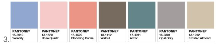 Pantone 2016 Color of the Year - Congratulations, It's Twins! - The Decorologist