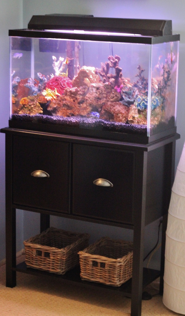 Fish tank tv stand - I Love Having Fish But Hate Ugly Tank Stands I Always Think Of Those Really