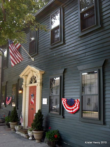 Colonial era home in Wickford RI.  My bags are packed and ready to move in.