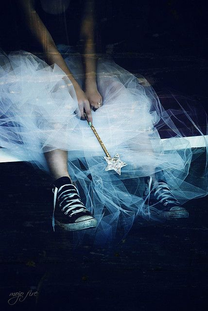 Yet a few years young for the glass slippers...She knows the story. She knows there are years to fill before the Prince can find the slipper that slips from her foot, the one that leads him to her - 'his' Fairy Princess! She waits, wand in hand, dream intact!