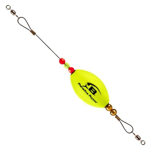 Bomber Lures Paradise Popper X-Treme Popping Cork Popper Yellow - Fishing Tackle And Baits, Weights Floats And Leaders at Academy Sports