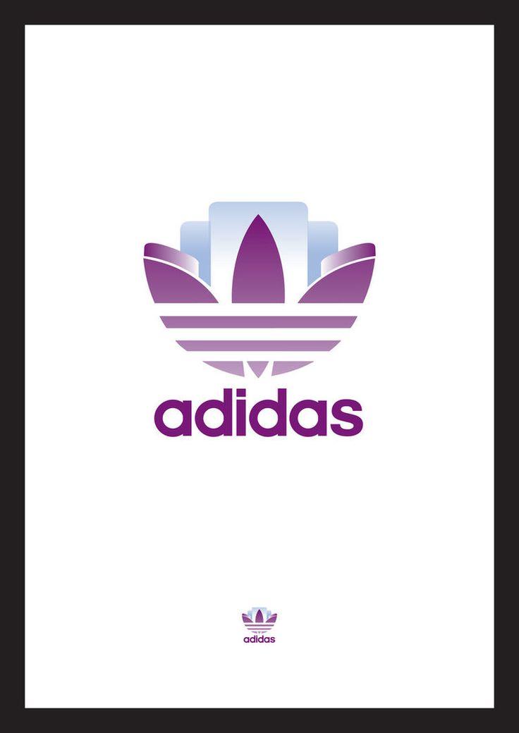 Adidas Art Deco logo