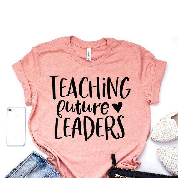 Teaching Future Leaders, Teacher Shirts, Teach Love Inspire, Teacher Appreciation Gift, Teaching Is My Jam, Bella Canvas Unisex Shirt