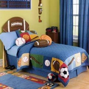 sports theme bedroom ideas for boys