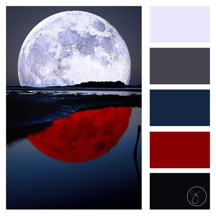 Blood Moon (Colour Palette) | Red color combinations ...