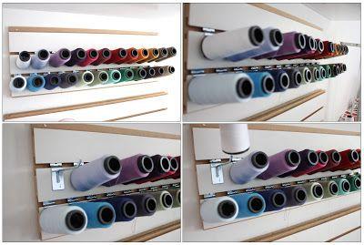 Casa Temperada: Organizando seu Atelier de costura.