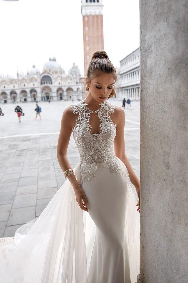 Italian style high end wedding dress julie vino