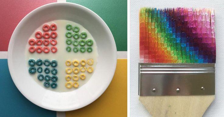 Adam Hillman está obsesionado con las imágenes estéticas, y provoca orgasmos visuales al colocar y ordenar objetos comunes, para convertirlos en algo increíble.