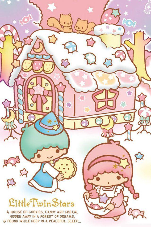 Casinha de doces. Kiki & Lala.