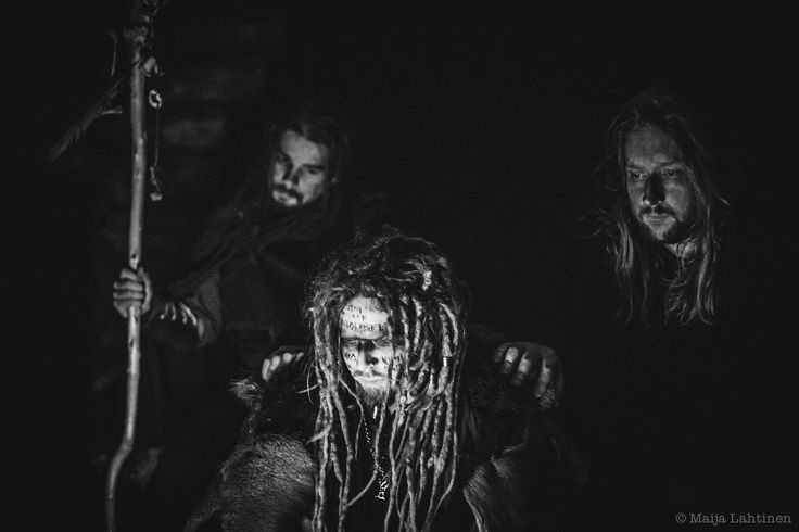 Images from the music video for the song Pimeä on oksan taitto that Jonne wrote for the horror film Backwood Madness. The song will be on the upcoming Jonne album Kallohonka.
