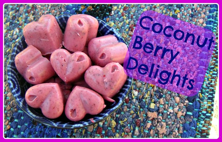 Coconut berry delights