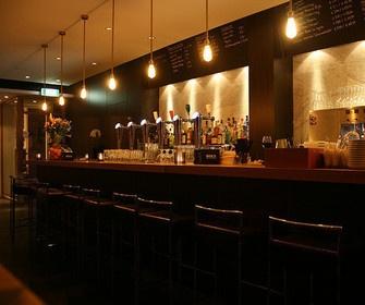 Interieur van Restaurant Dodici in Haarlem
