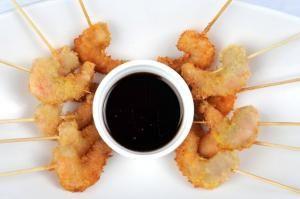 Cómo hacer camarones apanados #recetas #pescado