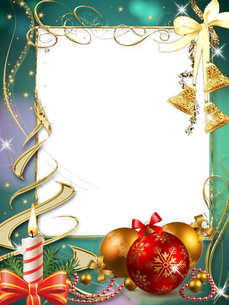 Marcos para fotos  gratis orientación vertical, motivos navideños en png. Lindos y sofisticados marcos de fotos especiales para la época n...